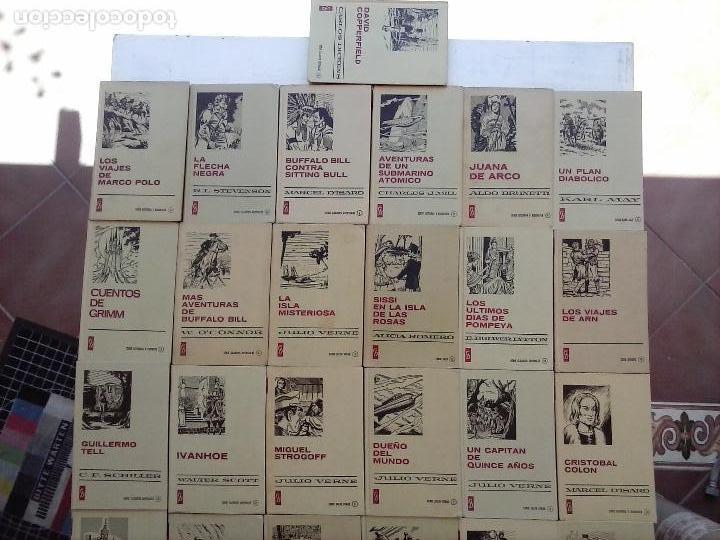 Tebeos: HISTORIAS SELECCIÓN BRUGUERA 37 LIBROS - Julio Verne - Emilio Salgari - Karl May, Carlos Dicken etc - Foto 74 - 126198063