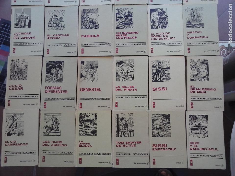 Tebeos: HISTORIAS SELECCIÓN BRUGUERA 37 LIBROS - Julio Verne - Emilio Salgari - Karl May, Carlos Dicken etc - Foto 75 - 126198063