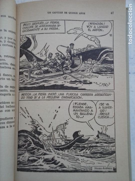 Tebeos: HISTORIAS SELECCIÓN BRUGUERA 37 LIBROS - Julio Verne - Emilio Salgari - Karl May, Carlos Dicken etc - Foto 78 - 126198063