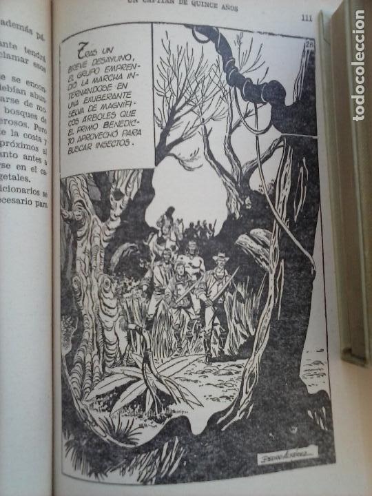 Tebeos: HISTORIAS SELECCIÓN BRUGUERA 37 LIBROS - Julio Verne - Emilio Salgari - Karl May, Carlos Dicken etc - Foto 81 - 126198063