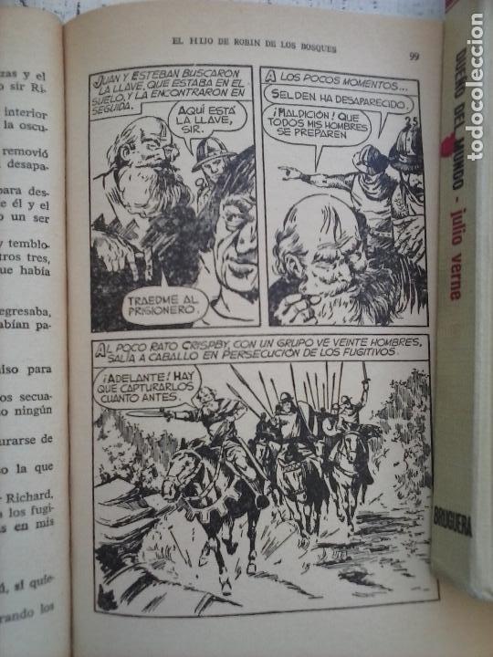 Tebeos: HISTORIAS SELECCIÓN BRUGUERA 37 LIBROS - Julio Verne - Emilio Salgari - Karl May, Carlos Dicken etc - Foto 83 - 126198063