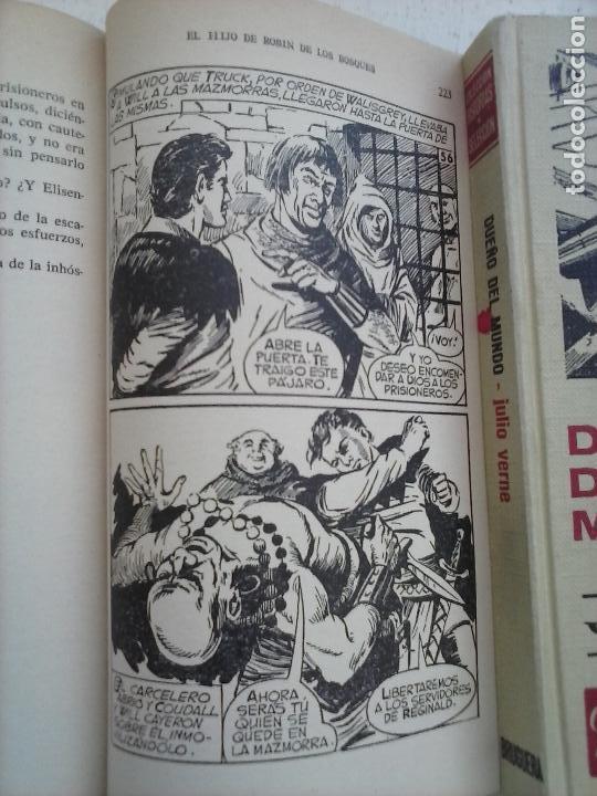 Tebeos: HISTORIAS SELECCIÓN BRUGUERA 37 LIBROS - Julio Verne - Emilio Salgari - Karl May, Carlos Dicken etc - Foto 84 - 126198063