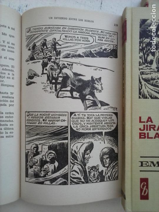 Tebeos: HISTORIAS SELECCIÓN BRUGUERA 37 LIBROS - Julio Verne - Emilio Salgari - Karl May, Carlos Dicken etc - Foto 89 - 126198063