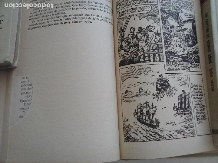 Tebeos: HISTORIAS SELECCIÓN BRUGUERA 37 LIBROS - Julio Verne - Emilio Salgari - Karl May, Carlos Dicken etc - Foto 94 - 126198063