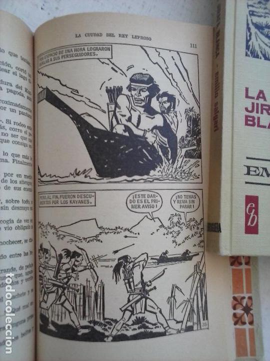Tebeos: HISTORIAS SELECCIÓN BRUGUERA 37 LIBROS - Julio Verne - Emilio Salgari - Karl May, Carlos Dicken etc - Foto 97 - 126198063
