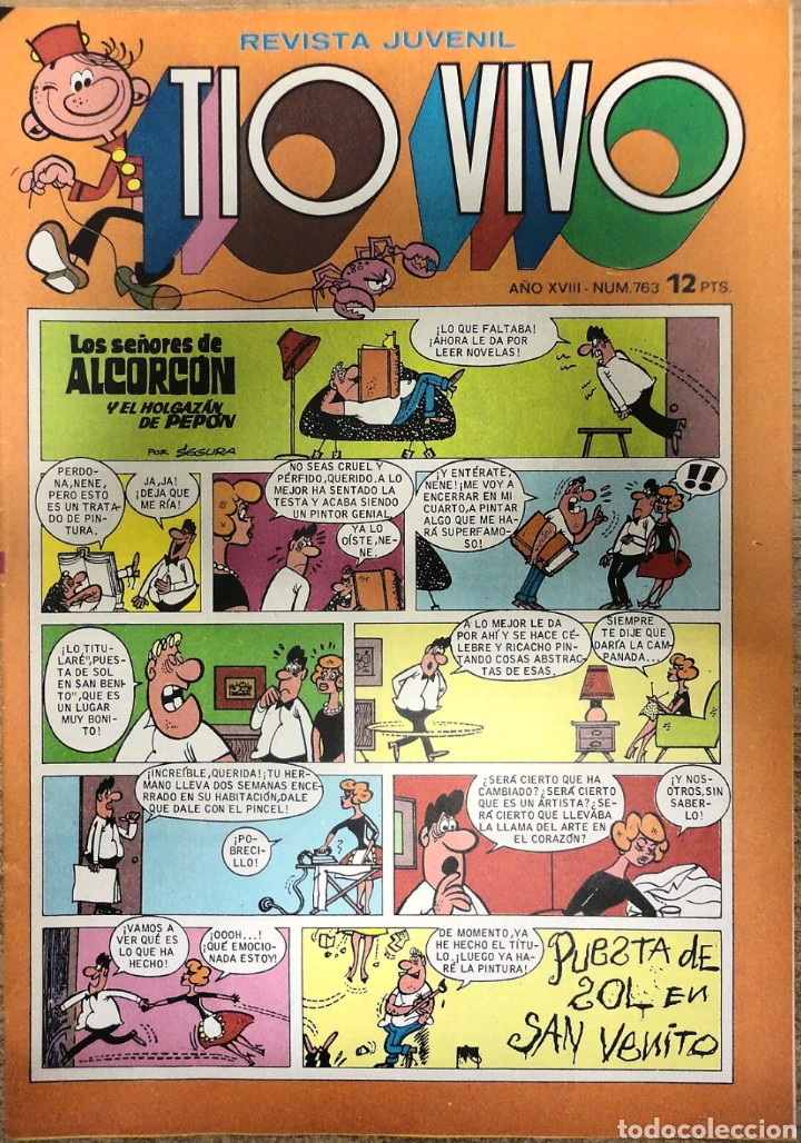 Comic n°763 tio vivo 1961 - Córdoba - En normal estado de conservacion - Córdoba