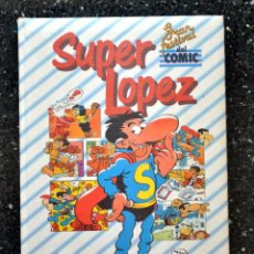 Tebeos: TOMO SUPERLOPEZ SUPER LOPEZ. JAN. 1 TOMO. EDICIONES BRUCH 1988. GRAN FESTIVAL DEL COMIC COMICS. Lote 126255175