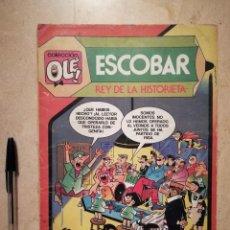 Tebeos: TEBEO - ESCOBAR REY DE LA HISTORIETA - COMICS - COLECCIÓN OLÉ - NUMERO 299 - 1 EDICION. Lote 126314875