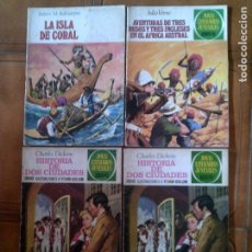 Tebeos: LOTE DE JOYAS LITERARIAS JUVENILES N,3, NUMERO3 TAPA DURA Y 42 ,28. Lote 126385371