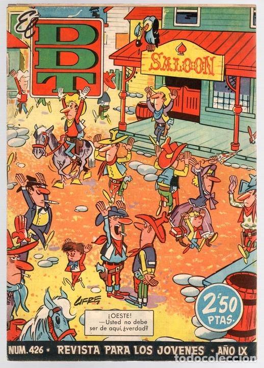 EL DDT. Nº 426. 13 DE JULIO DE 1959 (Tebeos y Comics - Bruguera - DDT)