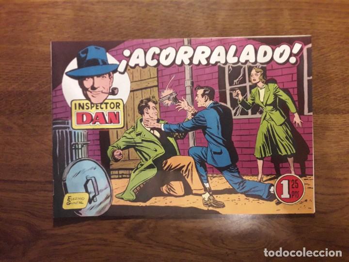 Tebeos: INSPECTOR DAN. LOTE DE 12 TEBEOS. REEDICIÓN. BRUGUERA. - Foto 29 - 126491627