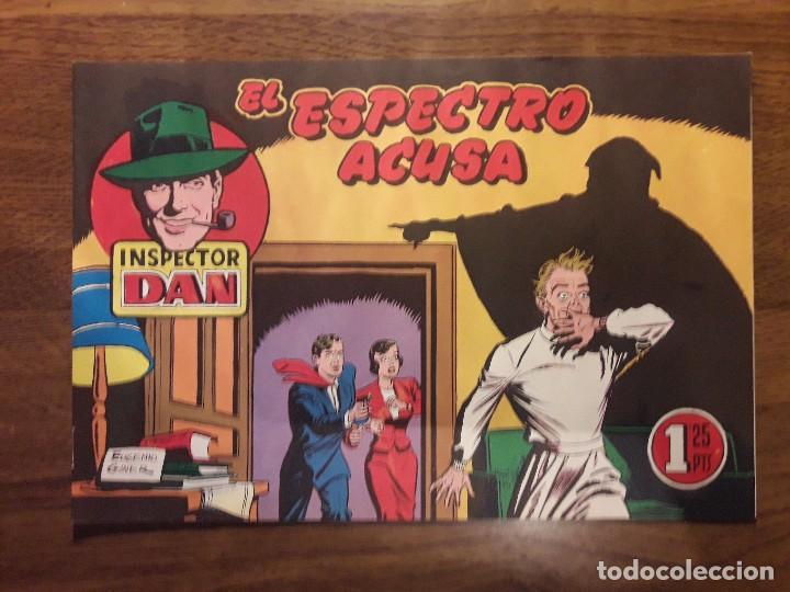 Tebeos: INSPECTOR DAN. LOTE DE 12 TEBEOS. REEDICIÓN. BRUGUERA. - Foto 35 - 126491627