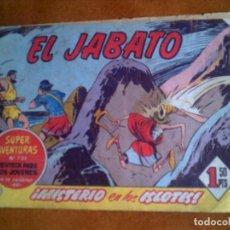 Tebeos: TEBEO DEL JABATO N,237 DE BRUGUERA AÑO 1963. Lote 126702371