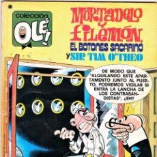 Tebeos: COMIC N°176 MORTADELO Y FILEMÓN 1978. Lote 126708210