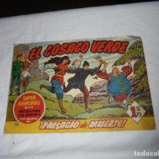 Tebeos: EL COSACO VERDE Nº 45 .-BRUGUERA 1961. Lote 126739147