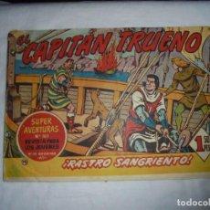 Tebeos: EL CAPITAN TRUENO Nº 167.-RASTRO SANGRIENTO. Lote 126749219