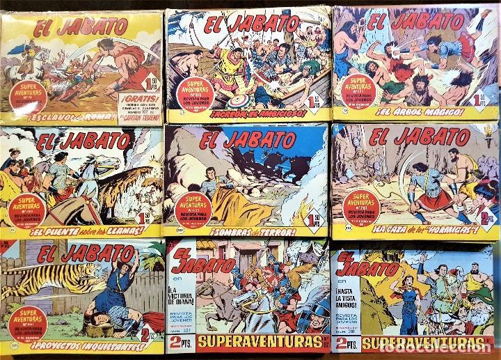 EL JABATO COLECCIÓN COMPLETA ORIGINAL DE 1958: 381 TEBEOS. DE VICTOR MORA Y FRANCISCO DARNÍS (Tebeos y Comics - Bruguera - Jabato)