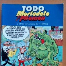 Tebeos: TODO MORTADELO Y FILEMÓN. TOMO 18.. Lote 126783526