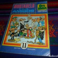 Tebeos: CON LOS CROMOS. OYE MIRA Nº 11 MORTADELO Y SUS AMIGOS. BRUGUERA 1981. 325 PTS. RARO.. Lote 126893891