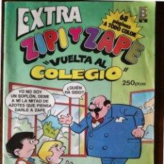 Tebeos: ZIPI Y ZAPE ESCOBAR VUELTA AL COLEGIO CON POSTER CENTRAL DE REGALO 1989 NUEVO. Lote 127025759