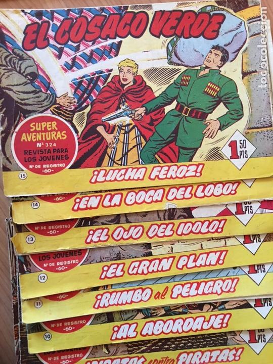 Tebeos: LOTE DE 25 CÓMIC - TEBEOS ANTIGUOS - EL COSACO VERDE - DEL NÚMERO 1 AL 25 - Foto 3 - 127088435