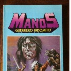Tebeos: 2 COMICS MANOS GUERRERO INDOMITO SELECCIÓN Nº 1 Y Nº 2 CON 12 COMICS 1984 NUEVO. Lote 127111347