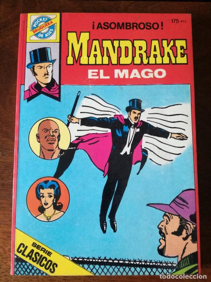 Tebeos: Pocket de ases-Nº 33-38-Mandrake el Mago 39-El hombre enmascarado de Bruguera 1984 nuevos - Foto 6 - 42070527