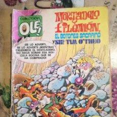 Tebeos: MORTADELO Y FILEMÓN / EL BOTONES SACARINO / SIR TIM O'THEO. ZARABANDA DE PORRAZOS - 1ª EDICIÓN 1979. Lote 127144983