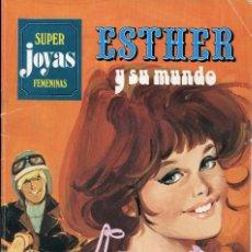 Tebeos: SUPER JOYAS FEMENINAS NUMERO 3. ESTHER Y SU MUNDO. Lote 127190843