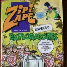 Tebeos: ZIPI Y ZAPE Nº 154-ESPECIAL EXPLORADORES-BRUGUERA NUEVO 1983. Lote 127196231