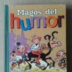 Tebeos: MAGOS DEL HUMOR, VOLUMEN I (BRUGUERA, 1971): ROMPETECHOS, SACARINO, MORTADELO, AGAMENÓN Y DON PÍO. Lote 127221034