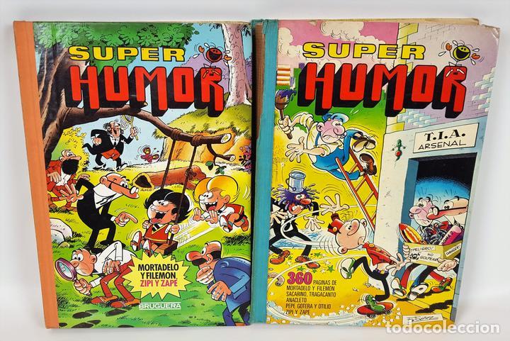 SUPER HUMOR. 2 VOLÚMENES. EDITORIAL BRUGUERA. ESPAÑA. 1978/1985. (Tebeos y Comics - Bruguera - Super Humor)