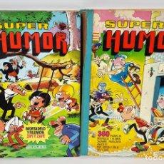 Tebeos: SUPER HUMOR. 2 VOLÚMENES. EDITORIAL BRUGUERA. ESPAÑA. 1978/1985.. Lote 127348715