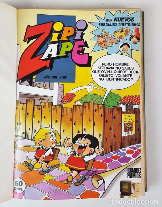 Tebeos: EDITORIAL BRUGUERA. 2 TOMOS. ZIPI ZAPE Y MORTADELO. ESPAÑA. 1984. - Foto 3 - 127417079