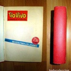 BDs: TÍO VIVO [TIOVIVO] : EL SEMANARIO DE LAS CARCAJADAS. ÉPOCA 2ª ; NÚMS. 1 A 50 ; ALMANAQUE PARA 1962. Lote 130836133