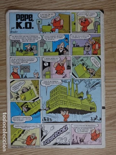 Tebeos: JABATO COLOR Nº 128 CON LOS GALOS 2ª PRIMERA EPOCA BRUGUERA 1976 super aventuras - Foto 2 - 127557083