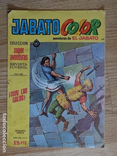 JABATO COLOR Nº 128 CON LOS GALOS 2ª PRIMERA EPOCA BRUGUERA 1976 SUPER AVENTURAS (Tebeos y Comics - Bruguera - Jabato)