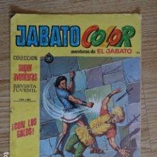 Tebeos: JABATO COLOR Nº 128 CON LOS GALOS 2ª PRIMERA EPOCA BRUGUERA 1976 SUPER AVENTURAS. Lote 127557083