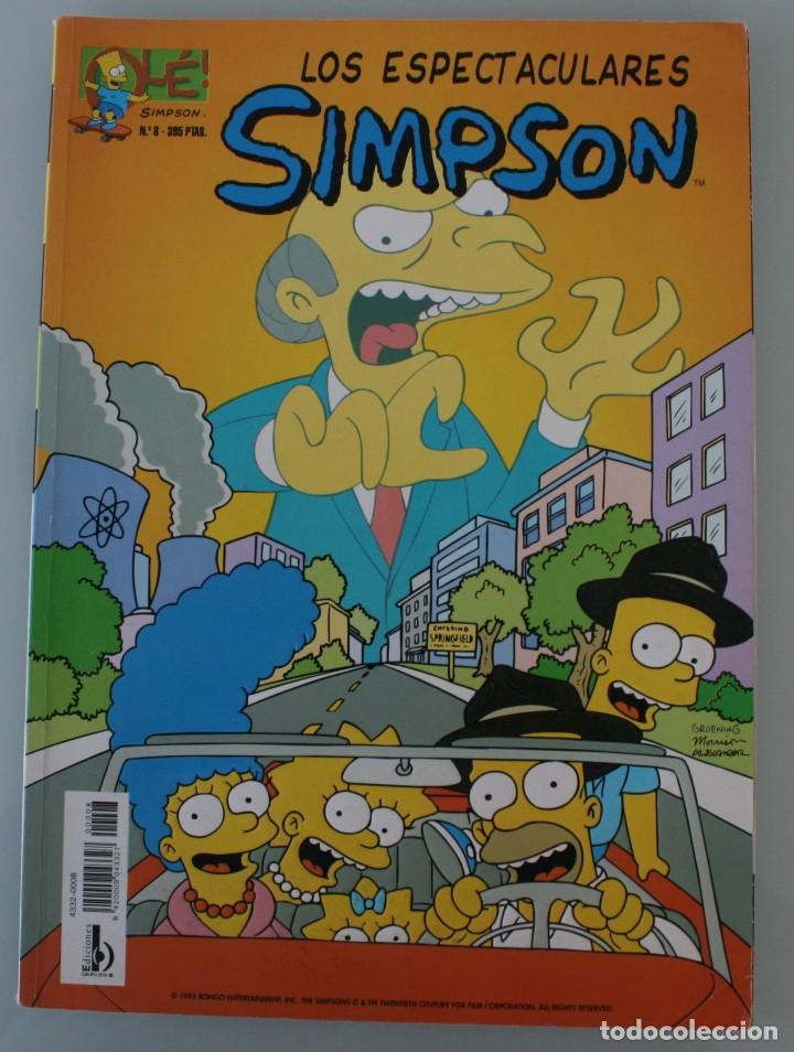 COMIC COLECCION OLE Nº 8: LOS ESPECTACULARES SIMPSON. EDICIONES B 1996 LIBRO DE HISTORIETAS EN COLOR (Tebeos y Comics - Bruguera - Ole)