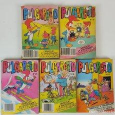 Tebeos: PULGARCITO. 5 VOLÚMENES. EDITORIAL BRUGUERA. ESPAÑA. 1983/1984. . Lote 127613783