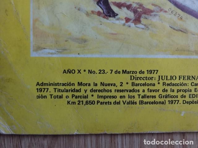 Tebeos: Trueno Color superaventuras Singular abordaje Nº 23 segunda época Año 1977 Extra Album gigante - Foto 3 - 127626295