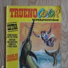 Tebeos: TRUENO COLOR SUPERAVENTURAS SINGULAR ABORDAJE Nº 23 SEGUNDA ÉPOCA AÑO 1977 EXTRA ALBUM GIGANTE. Lote 127626295
