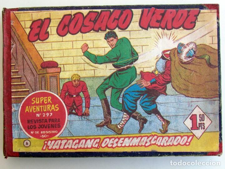 EL COSACO VERDE ORIGINAL ENCUADERNADO. 44 TEBEOS. (Tebeos y Comics - Bruguera - Cosaco Verde)