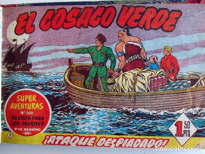 Tebeos: EL COSACO VERDE ORIGINAL ENCUADERNADO. 44 TEBEOS. - Foto 2 - 127633847