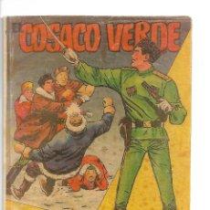 Tebeos: EL COSACO VERDE, EXTRA DE VERANO AÑO 1.960. ORIGINAL DIBUJANTE J. COSTA. EDITORIAL BRUGUERA.. Lote 127667839