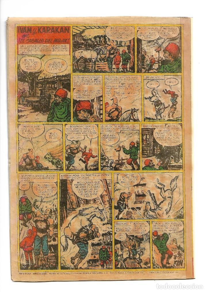 Tebeos: El Cosaco Verde, Extra de Verano Año 1.960. Original Dibujante J. Costa. Editorial Bruguera. - Foto 2 - 127667839
