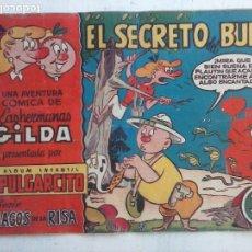 Tebeos: MAGOS DE LA RISA ORIGINAL BRUGUERA Nº 14 - HERMANAS HILDA - EL SECRETO DEL BUDA. Lote 127674015