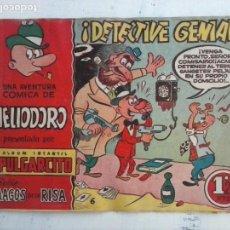Tebeos: MAGOS DE LA RISA ORIGINAL BRUGUERA Nº 6 - HELIODORO - ¡ DETECTIVE GENIAL !. Lote 127674567