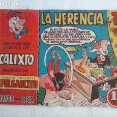 Tebeos: MAGOS DE LA RISA ORIGINAL BRUGUERA Nº 11 - CALIXTO - LA HERENCIA DEL TÍO. Lote 127674815