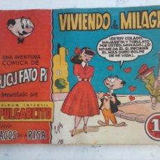 Tebeos: MAGOS DE LA RISA ORIGINAL BRUGUERA Nº 16 VIVIENDO DE MILAGRO. Lote 127675023